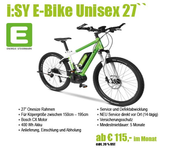 E-Steiermark iSY Unisex
